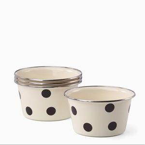 Kate Spade pop corn bowls